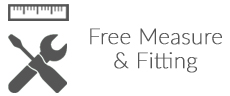 free measure and fitting glasgow
